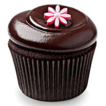 Chocolate Squared Cupcakes: Eggless Cakes for Anniversary