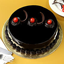 Chocolate Truffle Cream Cake: Cake Delivery in Burhanpur
