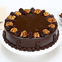 Chocolate Walnut Cake: Cake delivery in Kamrup