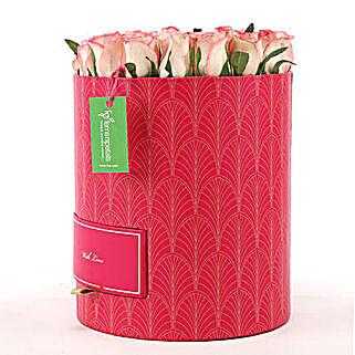 Chocolates & Shaded Roses Box: