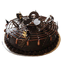 Chocolatey Drops of Pride Cake: New Year Cakes Dehradun