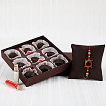 Chocolatey Rakhi Combo: Send Rakhi to Bundi