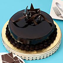 Chocolaty Truffle Cake: Send Fathers Day Gifts to Pune