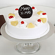 Christmas Pineapple Cake: Cake Delivery in Firozabad