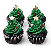Christmas Tree Cupcakes: Send Christmas Gifts? to Delhi