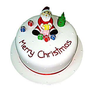 Christmas with Santa Cake: Christmas Gifts