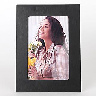 Classy Black Photo Frame: Send Photo Frames