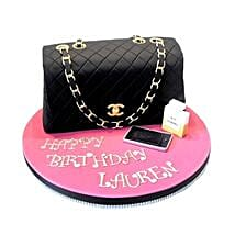 Classy Chanel Cake: Birthday Cake Delivery In Bangalore