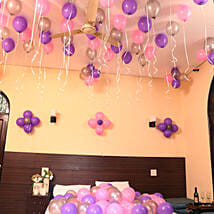 Colorful Balloons Decor: Birthday All Gifts