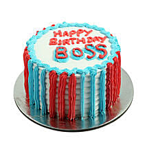 Colorful Cake for Boss: Cake delivery in Virajpet