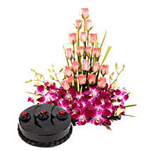 Colour N Cake: Send Flowers & Cakes to Ludhiana