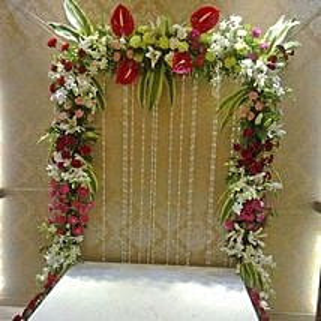 Colourful Floral Decoration: Flowers for Janmashtami