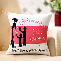 Comforting Personalised Cushion For Mom: Send Gifts for 75Th Birthday