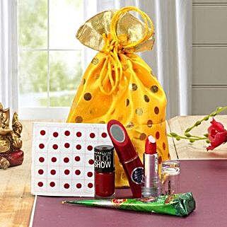 Cosmetics Combo: Cosmetics & Spa Hampers for Karwa Chauth