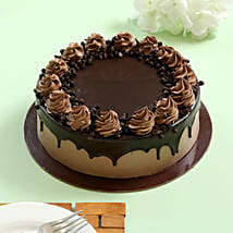 Cream Drop Chocolate Cake: Get Well Soon Cakes