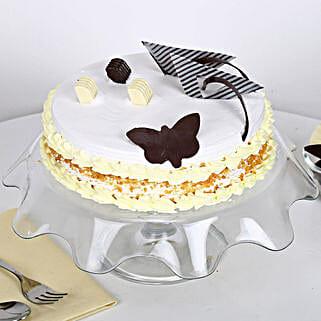 Creamy Butterscotch Cake: Cakes to Haldwani