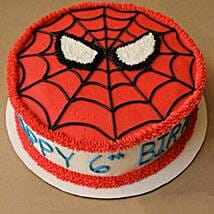 Creamy Spiderman Treat Cake: Cake Delivery in Thiruvalla
