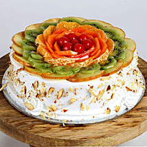 Creamy Vanilla Fruit Cake: Cakes for Valentines Day
