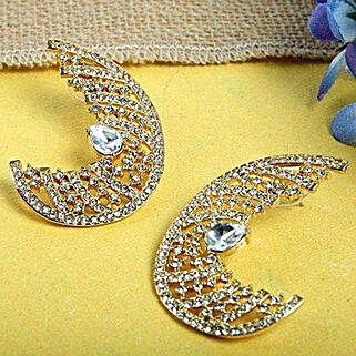Crescent Ear Cuffs: Karwa Chauth Gifts to Bhubaneshwar