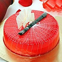 Crimson Love Cake: Send Christmas Gifts to Family