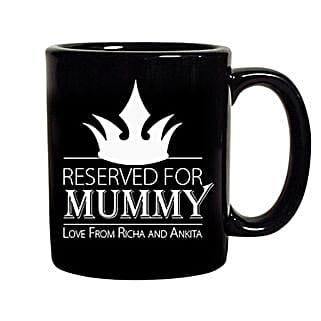 Crown Reserved For Mummy Mug: Personalised Mugs
