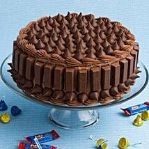 Crunchy Kit Kat Cake: Send Gifts to Fatehabad