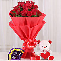 Cuddly Affair: Send Flowers to Hoshiarpur