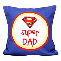 Cushion for Super Dad: Fathers Day Cushion