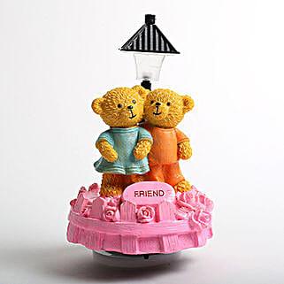 Cute Friend Teddy Showpiece: Valentines Day Soft toys