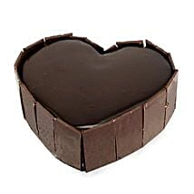 Cute Heart Shape Cake: Send Birthday Cakes for Boyfriend