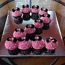 Cute Minnie Mouse Cupcakes: 1st Birthday Gifts