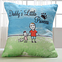 Dad Lil Princess Cushion: Gifts for Daughters Day