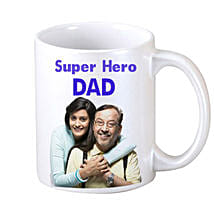 DAD Personalized Coffee Mug: Personalised Mugs for Fathers Day