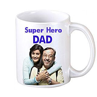 DAD Personalized Coffee Mug: Personalised Mugs Noida