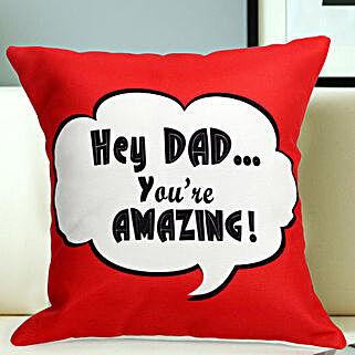 Dad You R Amazing: Fathers Day Cushion