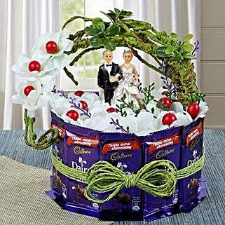 Dairy Milk Special Wishes: Send Chocolate Bouquet