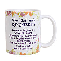 Daughters Day Mug: Gifts for Daughters Day