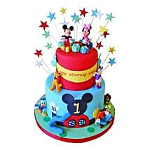 Dazzling Disney Cake: Send Black Forest Cakes