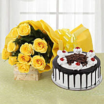 Delicious Bites and Flowers: Flowers & Cakes Ludhiana