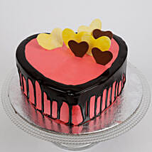Delicious Hearts Cake: Cake Delivery in Mapusa