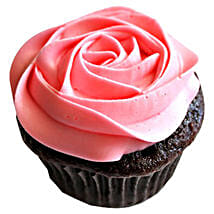 Delicious Rose Cupcakes: Eggless cakes for anniversary