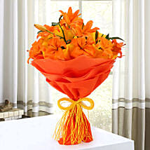 Descent Bouquet: Flower Bouquets Patna