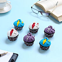 Designer Cupcakes For Dad: Cup Cakes to Lucknow