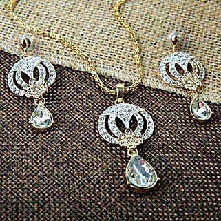 Drop Of Love Pendant Set: Jewellery Gifts