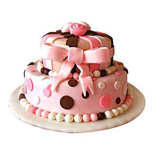 Elegant Pink Cake: Premium Cakes