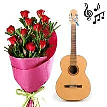 Emotions Say those with a Song: Send Flowers & Guitarist Service