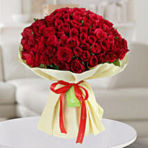 Enchanting Red Roses Bunch: Valentines Day Roses
