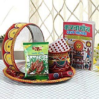 Ethnic Karwa Chauth: Karwa Chauth Gifts Gurgaon