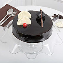 Exotic Chocolate Cream Cake: Cake Delivery in Kolhapur