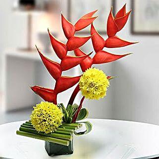 Exotic Flower Arrangement: Gifts Under 2000